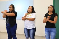 Amostra de trabalhos encerra curso FIC de Libras no Campus Bonfim