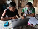 Campus Amajari entrega material para facilitar estudo remoto de estudantes