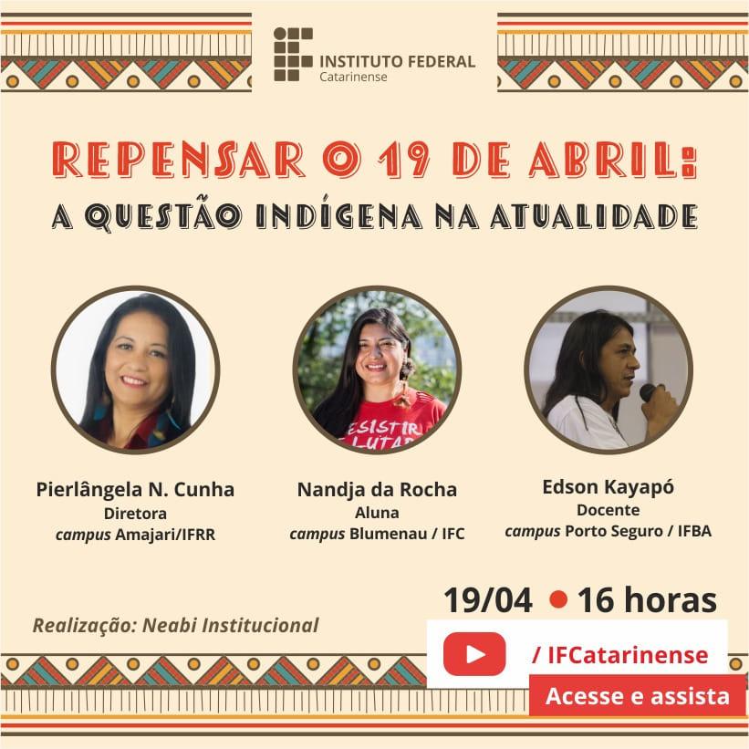 Diretora Geral do CAM participa de evento online organizado pelo IF Catarinense