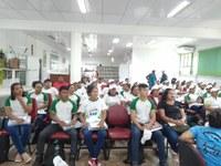 Estudantes dos polos da EAD do IFRR Amajari fazem visita técnica à sede do campus