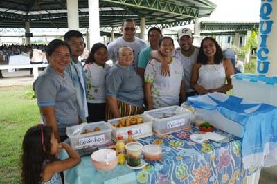 Turma do curso superior de Tecnologia em Aquicultura apresentou o trabalho Beneficiamento do Pescado