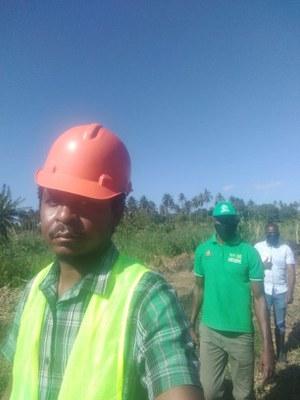 Edio atua como professor de Ciências Agrárias em Moçambique