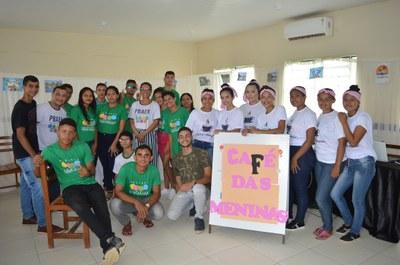 """Participantes do projeto """"Jovem Empreendedor: Trairão e suas potencialidades"""""""