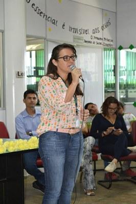 Professora Jacinta, docente do CAM desde 2014