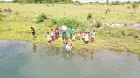 Campus Amajari do IFRR orienta famílias indígenas do Maturuca sobre manejo de peixes