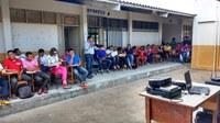 Equipe do Campus Amajari visita Comunidade Indígena Araçá da Serra