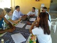 Proex acompanha execução de projeto no Amajari
