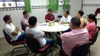 Reitor e gestores do Campus Amajari fazem balanço do ano e discutem metas para 2016