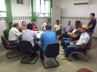 Reunião com a Superintendência do Banco do Brasil discute soluções para a agricultura e a piscicultura no Amajari