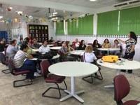 Servidores do CAM participam de palestra com a ouvidora do IFRR