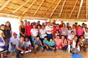Servidores implantam ação 20RJ em comunidades indígenas de Amajari