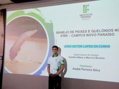 João Victor Lopes da Cunha defesa do estágio