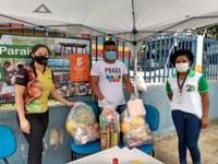 Comitê de Enfrentamento à Covid-19 realiza entrega de cestas em Rorainópolis
