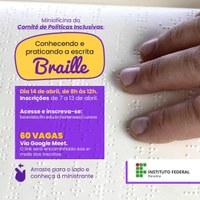 INCLUSÃO – Segunda capacitação do ciclo de minioficinas ocorre na próxima quarta-feira, 14
