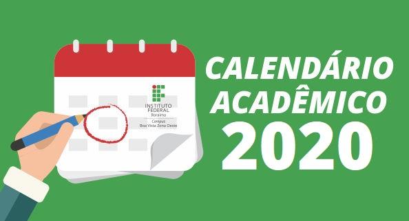 Calendário Acadêmico 2020