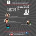 CIDADANIA – Roda de conversa virtual vai falar sobre voto consciente e jovens na política