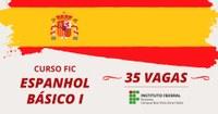 Comunicado – Inscrições pra curso de Espanhol Básico I são encerradas